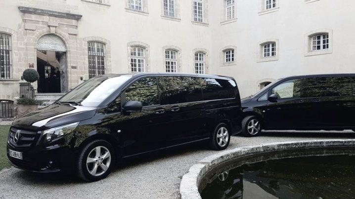 Provision of chauffeur-driven car.