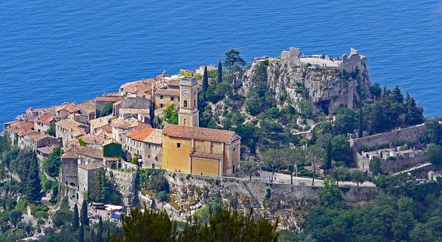 Tour Monaco, Eze et Nice