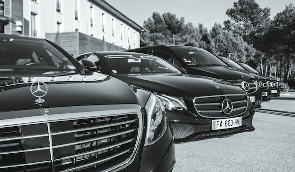 Notre flotte de voitures avec Chauffeur Marseille